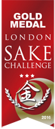 London Sake Challenge Gold Medal